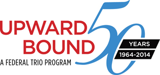 Upward Bound 50th Anniversary Logo
